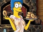 Marge Simpson im Playboy